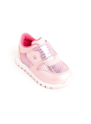 minipicco Kız Cocuk Ortopedik Destekli Çocuk Spor Ayakkabı Pembe